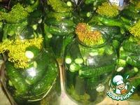 Деревенские солeные огурчики ингредиенты