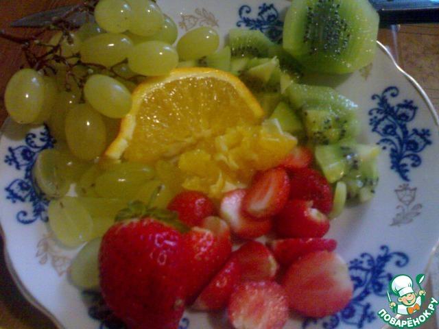 Красиво нарезать фрукты пошагово