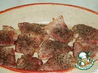 Мясо, жареное с грибами ингредиенты