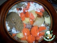 Жаркое из куриных желудков ингредиенты