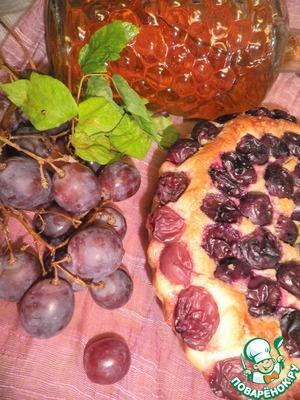 Рецепт Cкьяччата с виноградом