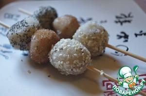Рецепт Данго - рисовые сласти