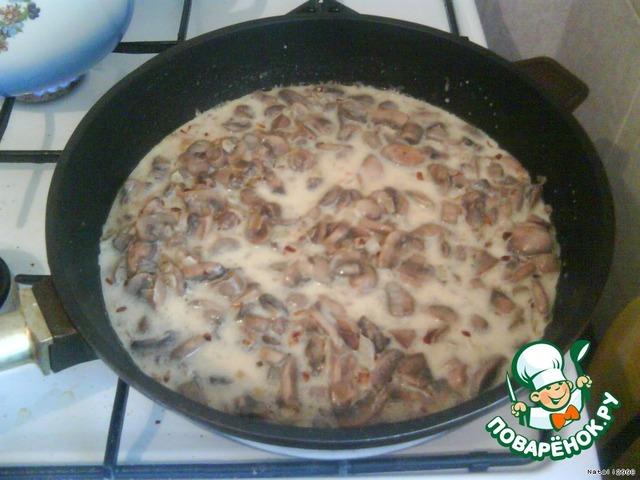 Рецепт грибы в молоке
