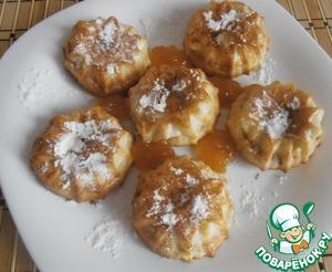Рецепт Пироженое пышечка Евразия