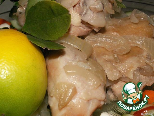 курица в луковом соусе рецепт с фото