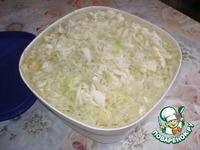 Постные пирожки с капустой ингредиенты