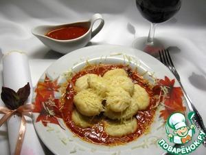 Рецепт Ньокки с томатным соусом