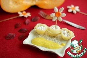 Рецепт Конкильони с рикоттой и тыквенным  бешамель.  Детский праздник в итальянском стиле. Часть 1.
