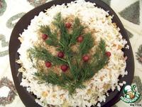 """Салат """"Елочка и Новый год"""" ингредиенты"""