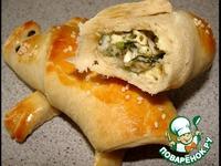 Булочки-рогалики Ящерки ингредиенты