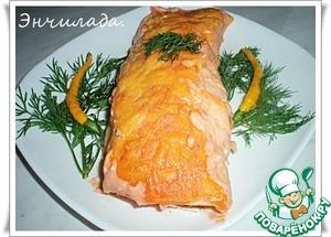 Рецепт Энчилада с мясом и творогом
