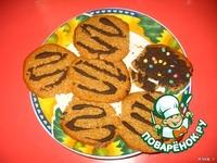 """Постное овсяное печенье """"Экспромт"""" ингредиенты"""