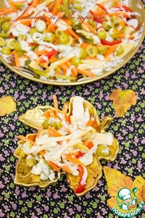 Рецепт Итальянский салат из курицы