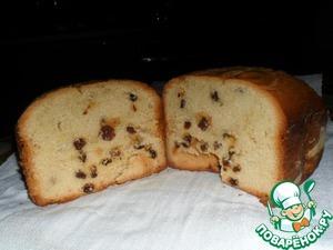 Рецепт Кекс с изюмом для хлебопечки