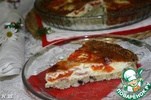 Рецепт Итальянский томатно-рисовый тарт