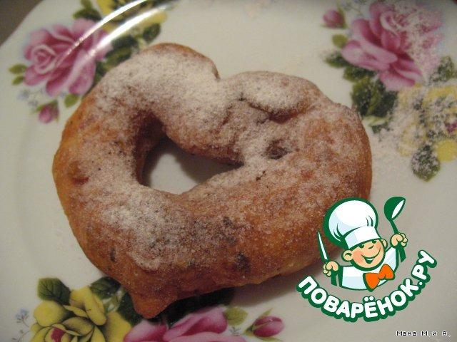 Как готовить Колечки из творога домашний пошаговый рецепт с фотографиями #5