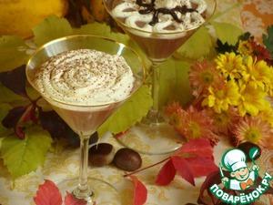 Рецепт Monte Bianco-Пюре из каштанов со сливками