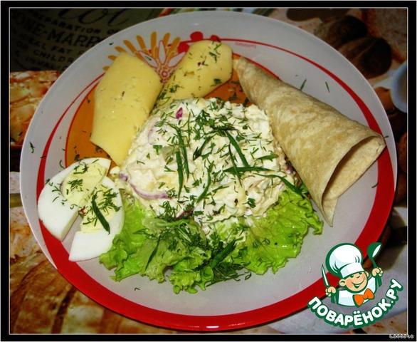 домашний овощной салат рецепт с фото пошагово