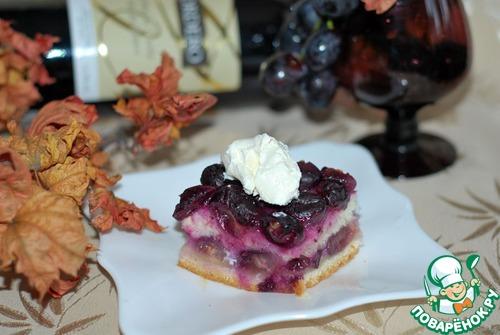 Пирог с виноградом 7 классных рецептов виноградного пирога