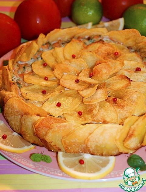 """Итальянская картофельная """"шарлотка"""" – кулинарный рецепт"""