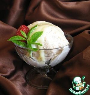 Рецепт Сливочно-персиковое мороженое