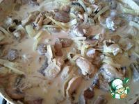 Индейка с грибами в сметане ингредиенты