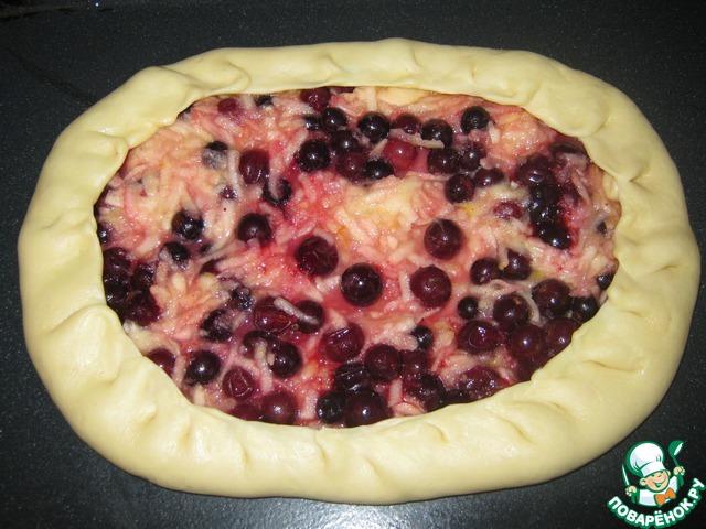 Как сделать пирог с ягодами из теста 804