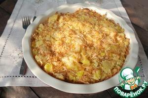 Рецепт Рыбная запеканка с картофелем и сельдереем