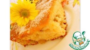 Рецепт Bиноградно-ореховый пирог с апельсиновым ароматом