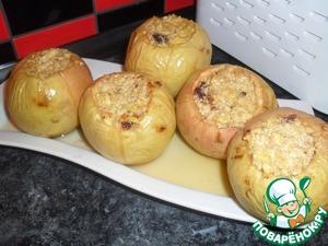 Рецепт Запеченные яблоки с творогом