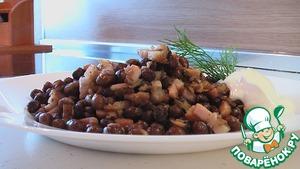 Как приготовить вкусный рецепт приготовления с фотографиями Серый горох с копченой грудинкой и луком