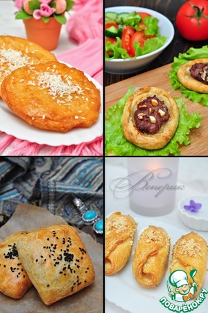 Рецепт Арабское тесто A'jineh Mwarraqah для сладкой и не сладкой выпечки