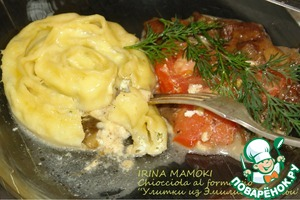 "Рецепт ""Улитки"" из Эмилии-Романьи Chiocciola al formaggio"