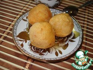 Рецепт Крокеты с рисом и фруктами
