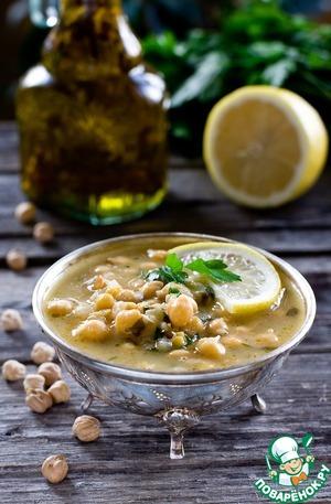Рецепт Суп с нутом и лимоном