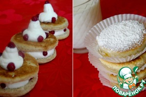 Рецепт Welsh cakes со взбитыми сливками