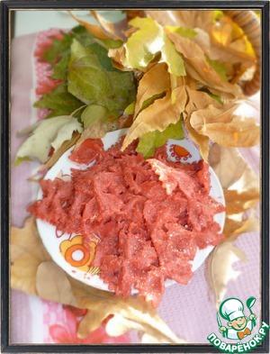 Рецепт Farfalle fuxia розовые бабочки