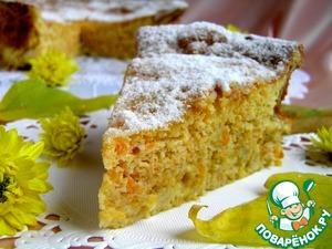 Рецепт Итальянский морковно-ореховый пирог