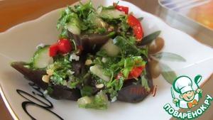 Рецепт Закусочные баклажаны