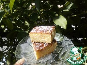 Рецепт Ревани с кокосом
