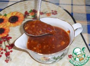 Рецепт Кисло-сладкий китайский соус