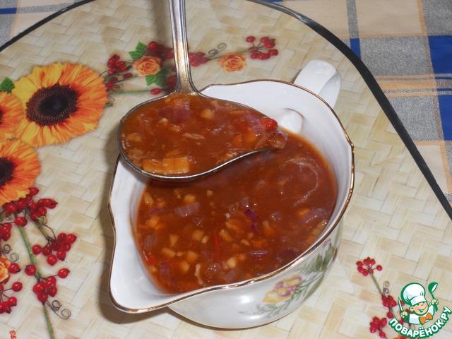кисло-сладкий соус рецепт для шашлыка
