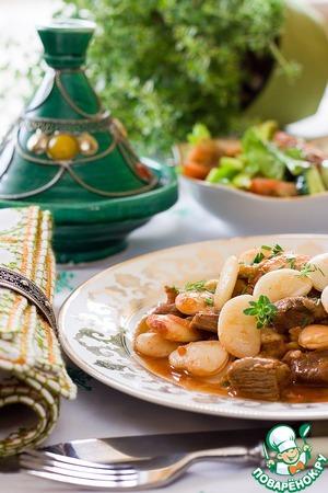 Рецепт Рагу из баранины и белой фасоли