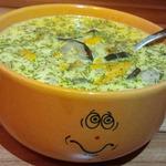 Грибной суп с лесными грибами