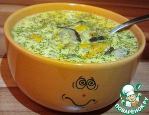 Рецепт Грибной суп с лесными грибами