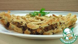Рецепт Лапшевник с мясом