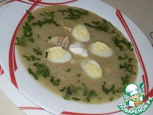 Рецепт Рыбный суп со щавелем