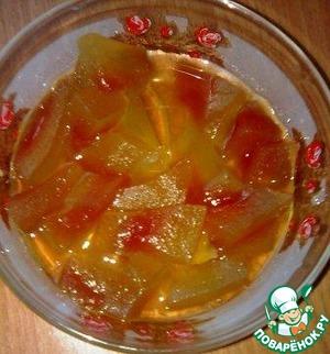 Рецепт Варенье из арбузных корок