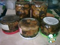 Маринованные волнушки и коровники ингредиенты