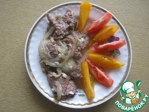 Рецепт Мясо по-кремлевски